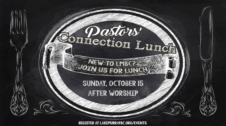 Pastors' Connection Lunch, October 2017